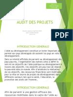 Audit Des Projets