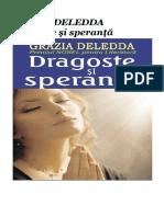 ===Grazia Deledda - Dragoste Si Speranta