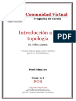 01 Introduccion a La Topologia