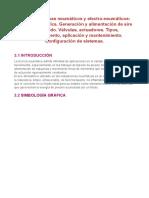 Tema 3. Sistemas neumáticos y electroneumáticos