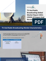 TV And Radio Broadcasting Market Detailed Overview And Business Scope
