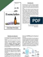 Taller de Medicina Natural , Aceites Esenciales.