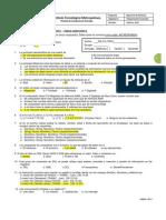 Examen Conducta de Entrada - PA