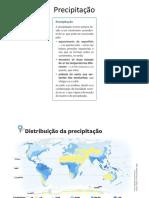 Precipitação_distribuição