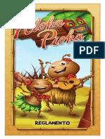 Aloha Pioha Reglamento