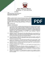 Resolución N.° 00159-2021-JNE