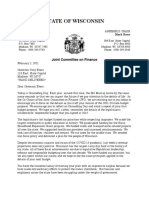 Letter to Governor Evers - We Can Avoid a GroundHog Day Budget