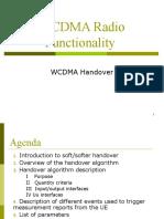 WCDMA handover v1.2