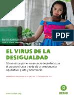 The Inequality Virus - Spanish Full Report - Embargoed 25 January 2015