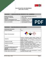 Hoja De Seguridad DIOXIDO DE CLORO