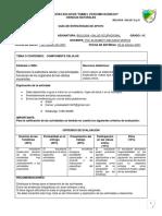 GUIA 1.  Taller grado  10° Biologia - Salud ocupacional.1P