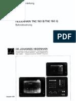 Manual Handbuch TNC150