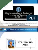 PPT Liderazgo Agil en Proyectos en Tiempos Covid19 CCAT UNI 2020