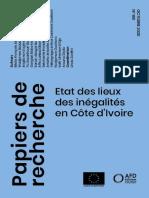 Etat des lieux des inégalités en Côte d'Ivoire
