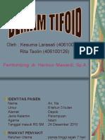Presentasi Demam Tifoid PPt