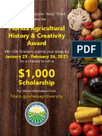 6178 Ag History Scholarship Competition Flyer and Rules Front Page Cover 2021
