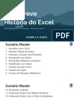 Uma Breve História do Excel - RESUMO PARA ESTUDANTES