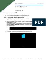 5.2.1.7 Lab - Install Windows 8