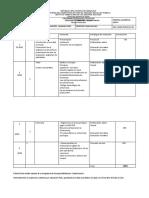 Cronograma de Actividades de Bioetica. IVSS Profes Mary Merceron