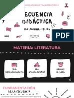 Secuencia Poesía Vanguardista (6to año)