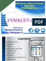 Symbian OS PPT Srinivasa Polytecnic