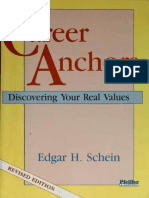 (9) Edgar Schein - Career Anchors