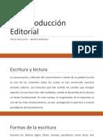 Autoproducción Editorial - Clase Introductoria