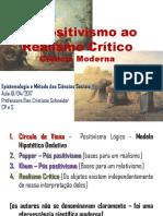 Schneider Elen Cristiane - Epistemologia 10-04 - Do Positivismo ao Realismo Crítico