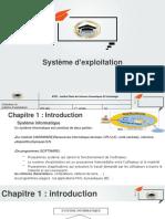 Chapitre 01 Introduction au système d'exploitation v