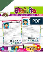 Free003. Registro de Datos Del Alumno