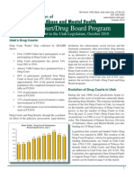 Utah Drug Court Annual Report 2010