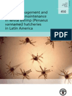 Health Management and Biosecurity Maintenance in White Shrimp