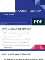 How to be a good teacher-lecture (1)