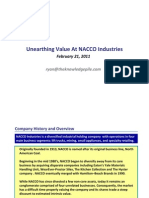 Unearthing Value At Nacco Industries Feb 2011