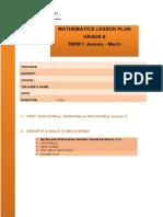 Grade 6 Term 1 Data Handling Lesson 1 2