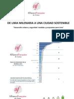 De Lima Milenaria a una Ciudad Sostenible