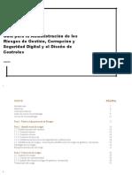 Guía para la Administración de los Riesgos de Gestión, Corrupción y Seguridad Digital y el Diseño de Controles en Entidades Públicas - Agosto de 2018