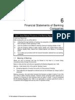 Accounting of Banking Companies
