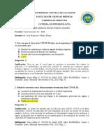 P3 Quiñonez Moreno Dennise - Cuestionario Covid 19 mas que una pandemia genes y genomas