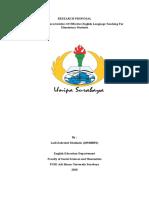 UAS Resech-185300052- Laili Zahrotul Maulinda