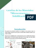 Clase 7. Microestructura y Solidificación