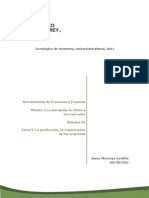 La producción - Organización de las Empresas