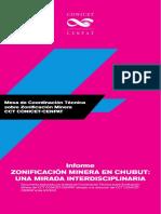Informe Mesa Técnica sobre zonificación minera en Chubut
