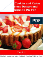 Effortless Cookies and Cake's 370 Delicious Dessert and Baking Recipes to Die For_ the Only Cookies and Cakes Cookbook That You Will Ever Need ( PDFDrive )