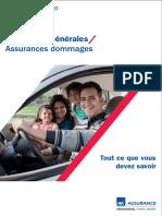 Conditions Générales sur assurance