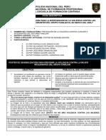 FICHA DESCRIPTIVA DEL POSTER DE SENSIBILIZACIÓN-