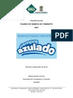 LINEAMIENTOS PRESENTACION DE PMT