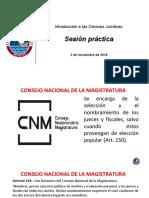 SESIÓN PRACTICA DEL 3 DE NOVIEMBRE