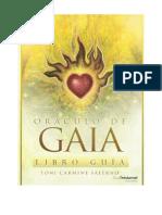 Oráculo de Gaia mazo y guia