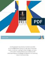 Scandinavian Outdoor Summit 2011 - Official Program and Speaker List